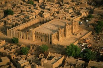 Мусульманская глиняная архитектура